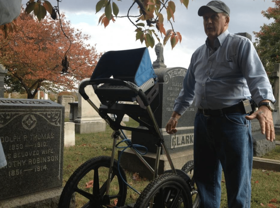 "The ""Bone Finder"" uses ground-penetrating radar to find lost graves at Congressional"